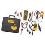 Fluke 1587/MDT FC - комплект мультиметр-мегомметр c функцией беспроводной связи + токовые клещи + индикатор чередования фаз