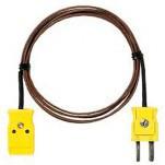Fluke 80PT-EXT - набор проводов-удлинителей с термопарой типа T