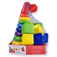 Набор развивающий РАДУГА МАКСИ, с кубиками