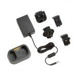 FLK-TI-SBC3B - база для зарядки аккумуляторов Ti-SBP3 and SBP4 с адаптерами