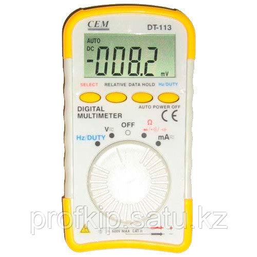 DT-113 - цифровой мультиметр