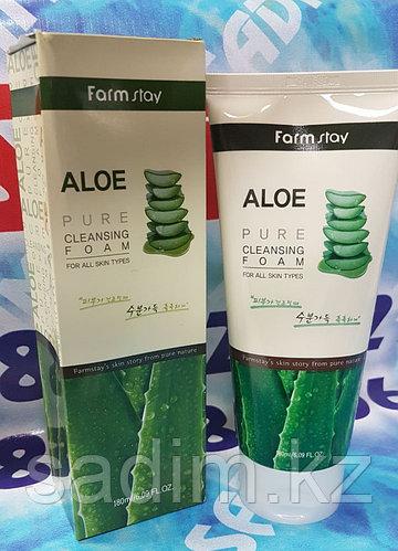 Farm Stay Aloe Pure Cleasing(Пенка для умывания с алое)
