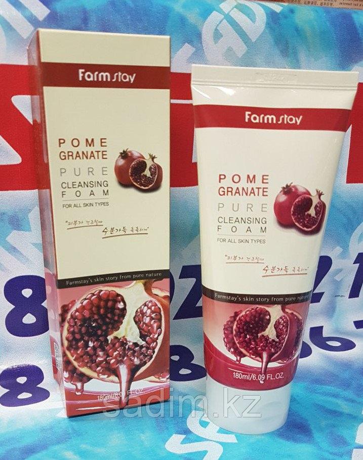 Farm Stay  Pomegranate Cleasing Foam  (Пенка для умывания на основе граната)