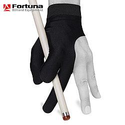 Перчатка бильярдная Fortuna Classic черная M\L