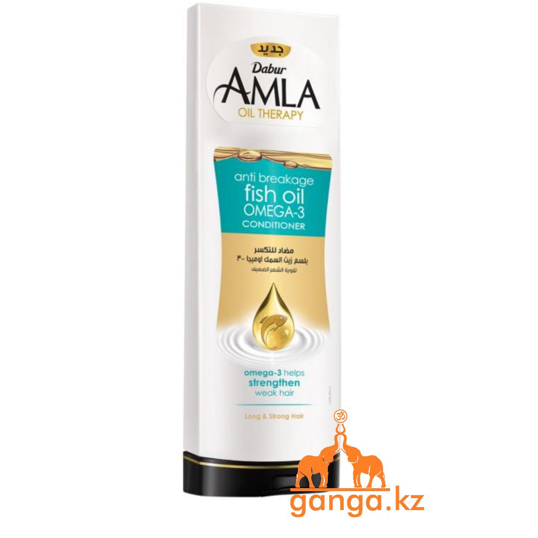 Кондиционер против ломкости волос с рыбьим жиром (Dabur Alma Oil Therapy Omega-3), 400 мл