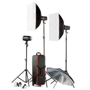 Комплект импульсного света Godox 480W, фото 2