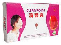 Тампоны Clean Point ( Тюльпан), ( для очистки и лечения матки)  1 тампон