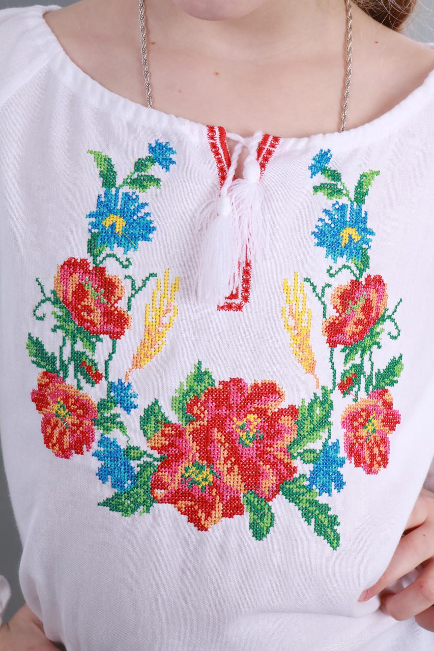 Вышиванка для девочки Веночек - фото 2