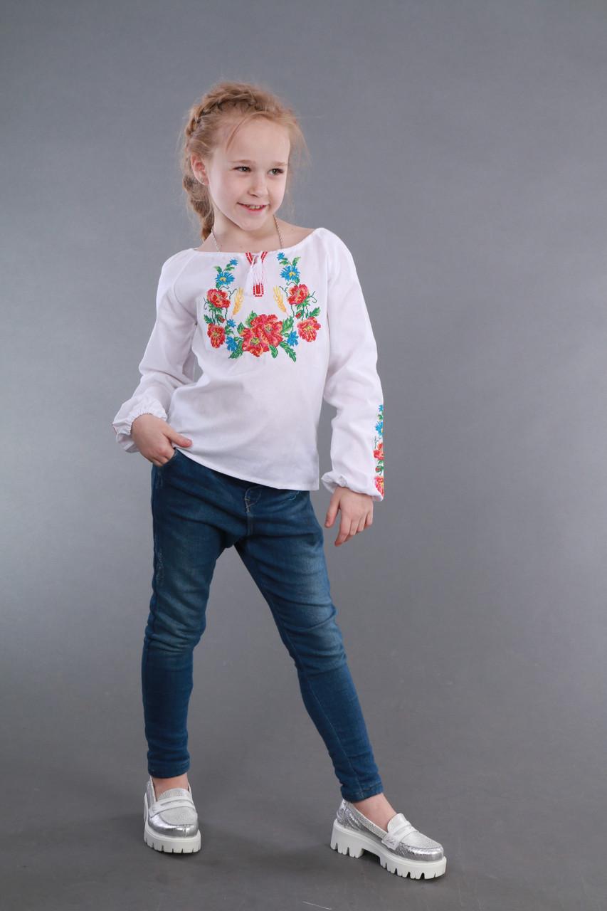 Вышиванка для девочки Веночек - фото 3