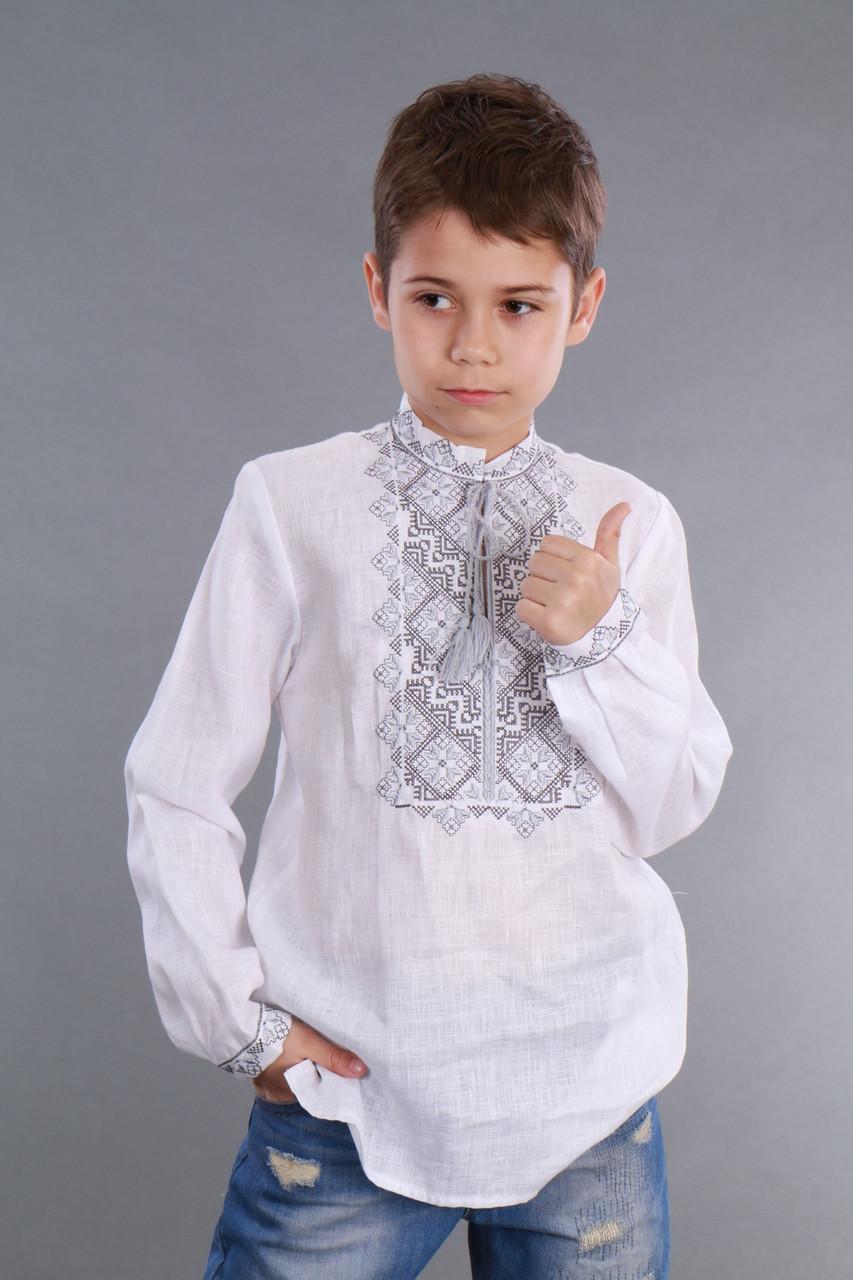 """Вышиванка детская для мальчика """"Твори мир"""" - фото 2"""
