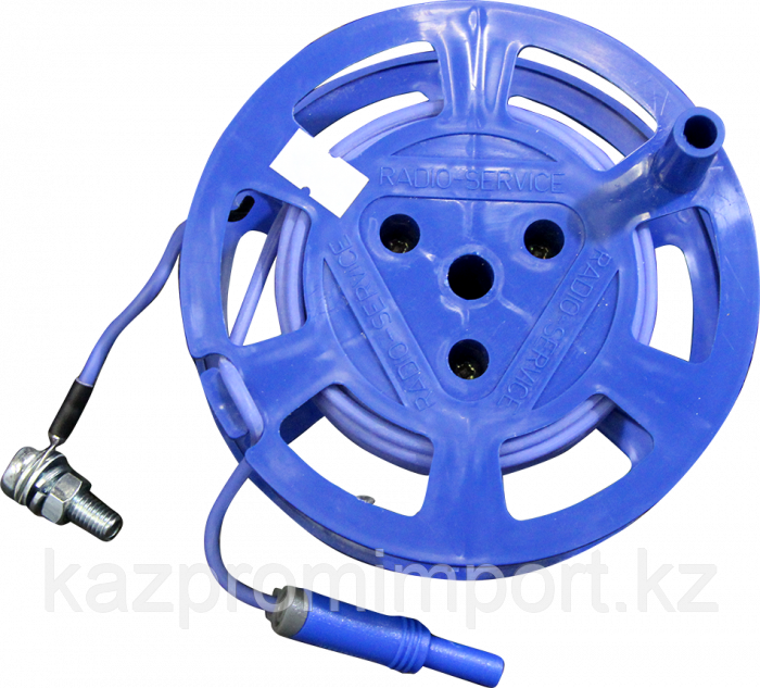 Катушка с синим проводом (8м) РАПМ.685442.004-05