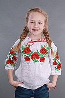 """Вышиванка для девочки """"Мак и Укроп"""""""