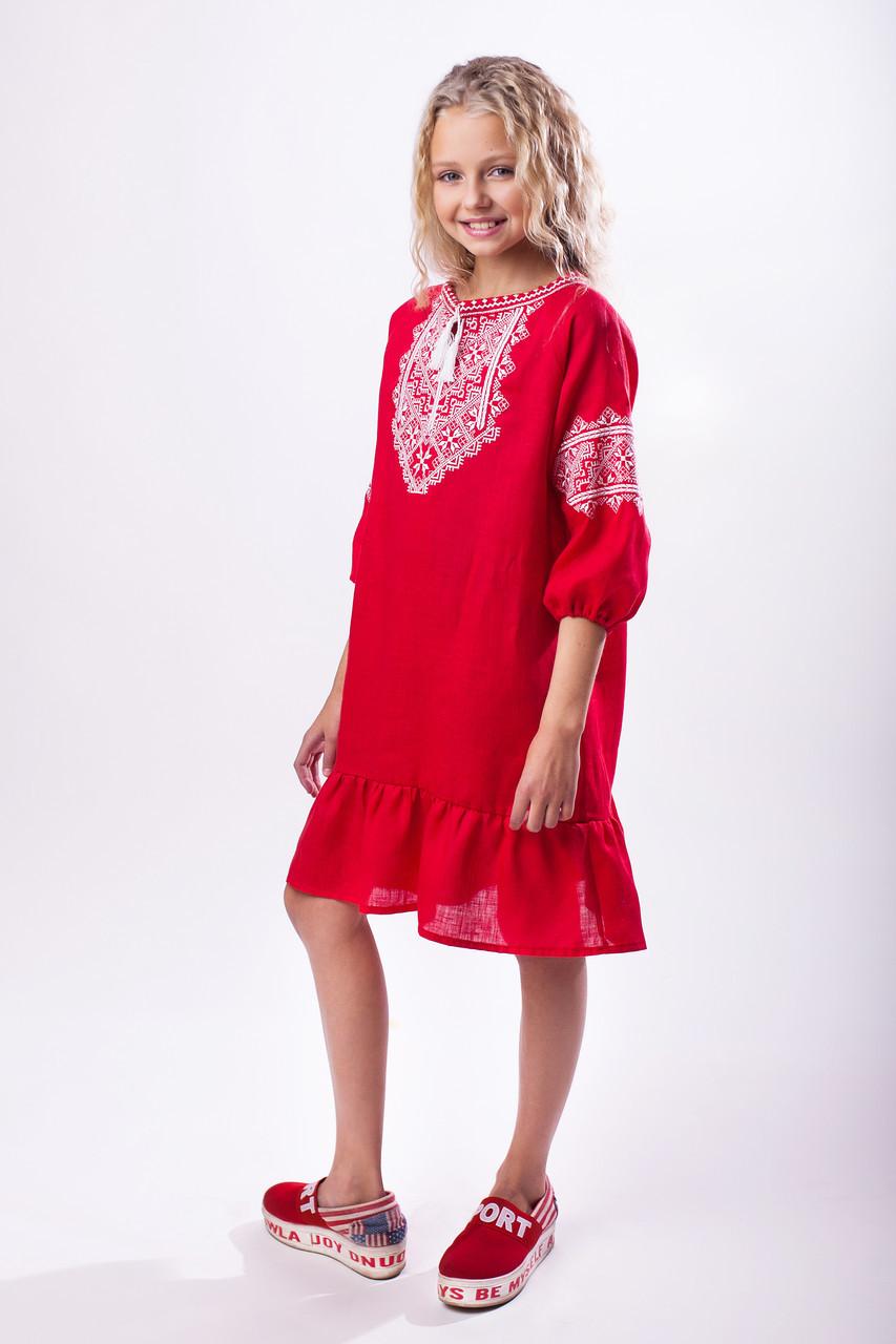 Нарядное платье для девочки - фото 1