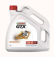 Castrol GTX 15W-40 A3/B4 Упаковка  4 л