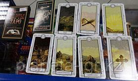 """Карты Таро  """"Для начинающих,Ленорман 6,5х11,4см, 36 карт, Лас Играс"""