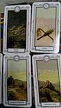 """Карты Таро  """"Для начинающих,Ленорман 6,5х11,4см, 36 карт, Лас Играс, фото 2"""
