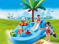 Конструктор «Детский бассейн с горкой» PLAYMOBIL, фото 1