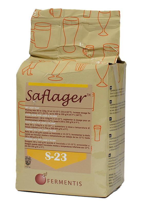 Дрожжи пивные сухие Saflager S-23 (500 гр.) - низового брожения