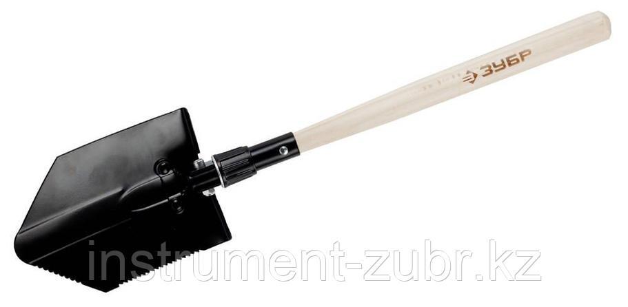 Лопата саперная стальная, складная, ЗУБР, фото 2
