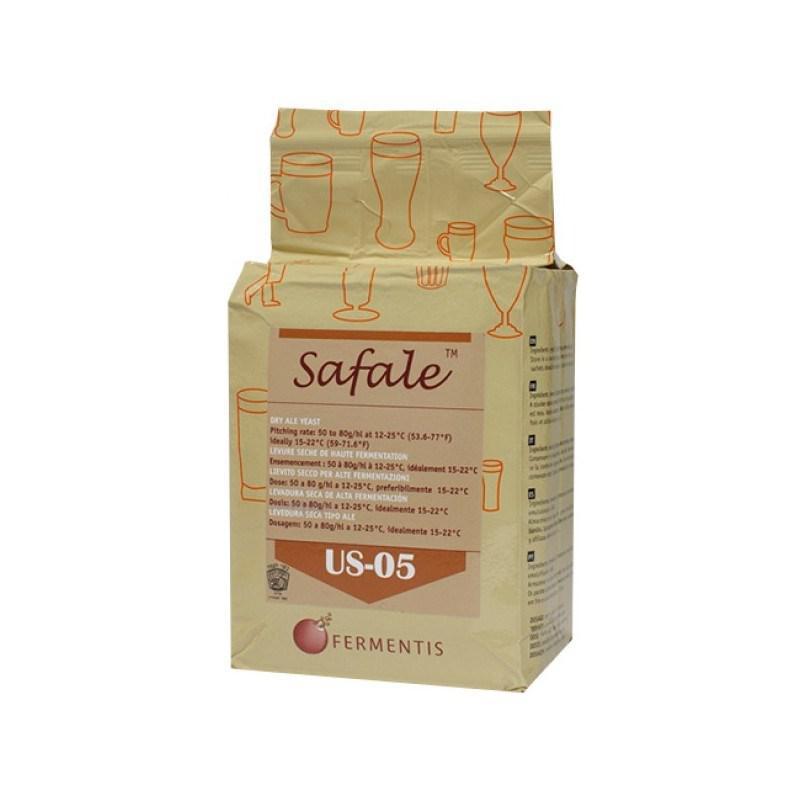 Дрожжи  пивные сухие Safale US - 05 (500 гр.) - верхового брожения