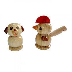 """Деревянная игрушка Свистулька """"Животные"""""""