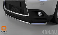 Защита переднего бампера Mitsubishi ASX (2012-) (одинарная)