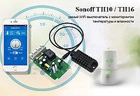 Sonoff TH10 Умный WiFi выключатель с мониторингом температуры и влажности, фото 1