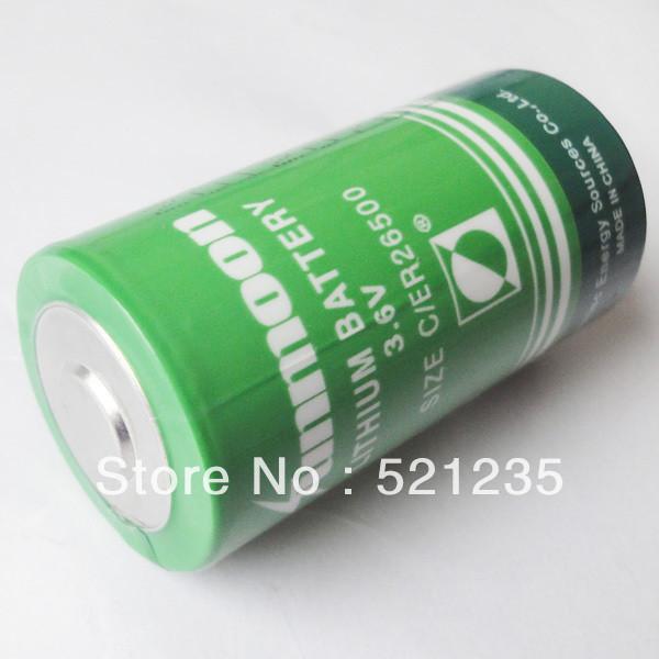 Батарейка 3.6v  ER26500 SUNMOON  C size 8500mAh 26x50mm