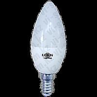 Лампа светодиодная Lion Lighting 6W E14 3000K