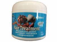 Маска для волос с экстрактом чеснока с кератином -Бэлисс