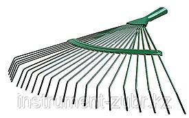 Грабли веерные RACO, 22 круглых зубца, эпоксидное покр., 450мм