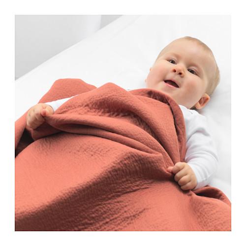 Одеяло детское ТИЛЛГИВЕН темно-красный ИКЕА, IKEA - фото 2