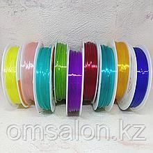 Нить силиконовая цветная, 0.8мм, 1.0мм