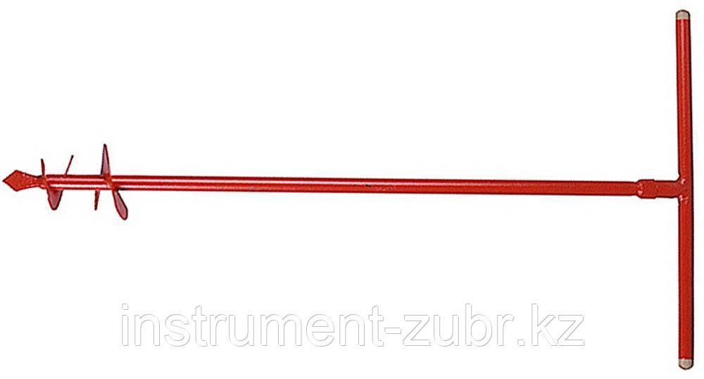 Бур садовый ручной, диаметр 135 мм