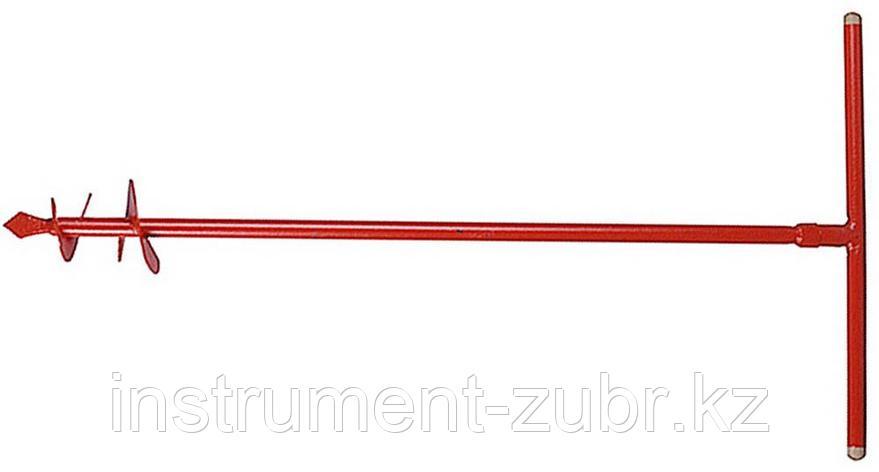 Бур садовый ручной, диаметр 135 мм                                                                                      , фото 2