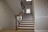 Светлая лестница в современном стиле, фото 4