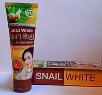 Смягчающая Крем-Маска для лица Snail White на основе грязи