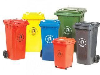 Баки для мусора пластиковые Алматы