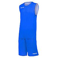 Баскетбольная форма Macron Х400 Голубой/Белый, XL
