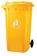 Мусорный контейнер пластиковый 240L купить в Алматы