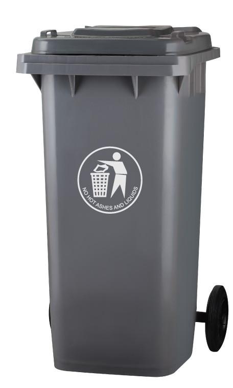 Мусорный контейнер пластиковый 120L купить в Алматы