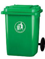 Мусорный контейнер пластиковый 80L купить в Алматы