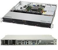 Сервер Rack 1U, 1xXeon Scalable LGA3647, 6xDDR4 LRDIMM 2666, 4x3.5HDD, RAID 0,1,10,5, 2xGLAN, 2x400W