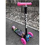 Самокат Scooter (светящиеся колеса), фото 7