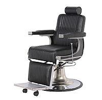 Мужское парикмахерское кресло черное BS-3121HG4