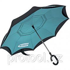 Зонт-трость обратного сложения, эргономичная рукоятка с покрытием Soft Touch// Gross