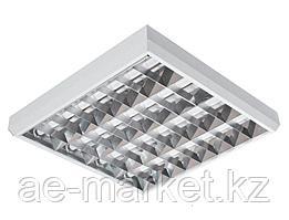 Потолочный светильник ЛПО 10-4х18-011 Rastr (ЭПРА Philips)