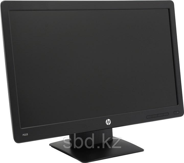 "Монитор 21.5"" HP ProDisplay P223, X7R61AA, Black"