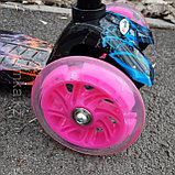 Самокат Scooter (светящиеся колеса), фото 8