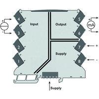 Преобразователь/делитель сигнала, Преобразователь сигнала с гальванической развязкой ACT20M-CI-CO-S, фото 2